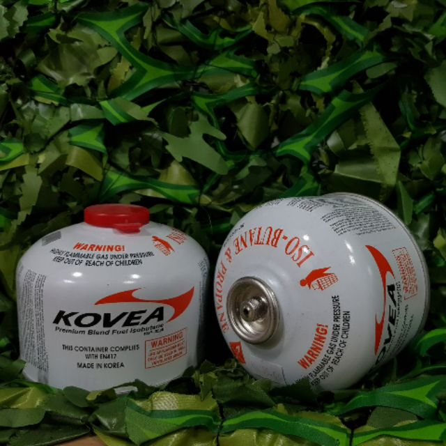 Kovea Gas Cartridges 230G screw white