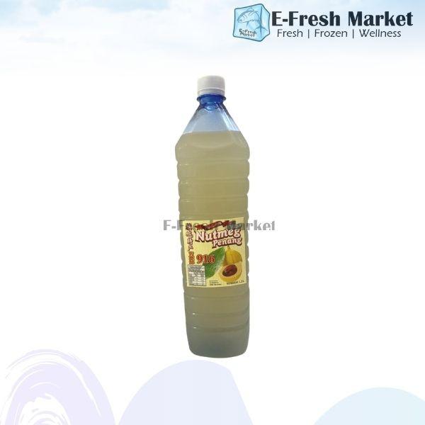 Fresh White Nutmeg Juice 白豆蔻汁 1.5 Litre (Penang Only)