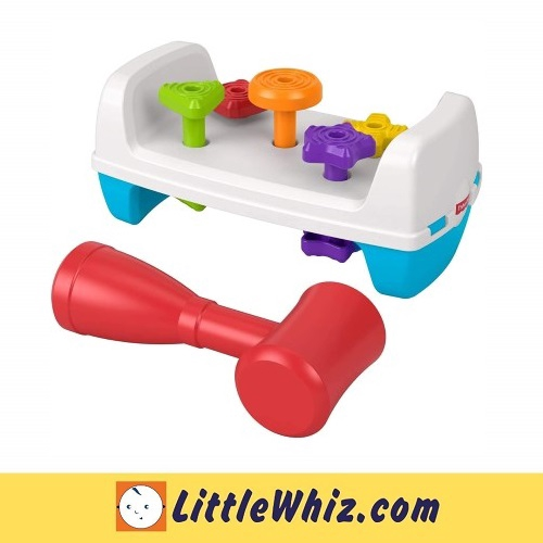 Fisher-Price: Tap & Turn Bench