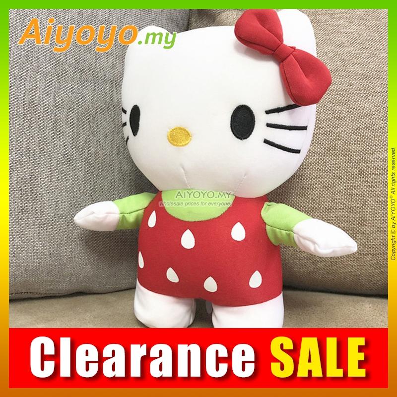 25CM Hello Kitty Bean Toy KT Stuffed Plush Soft Teddy Bear Toys Pillow