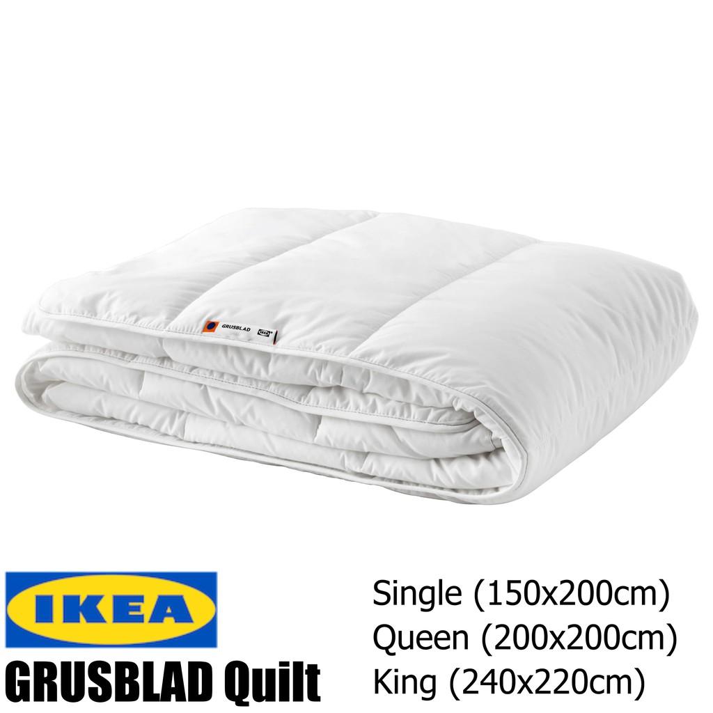 Quilt Ikea Size Queen Grusblad King Single QrCtxoshBd