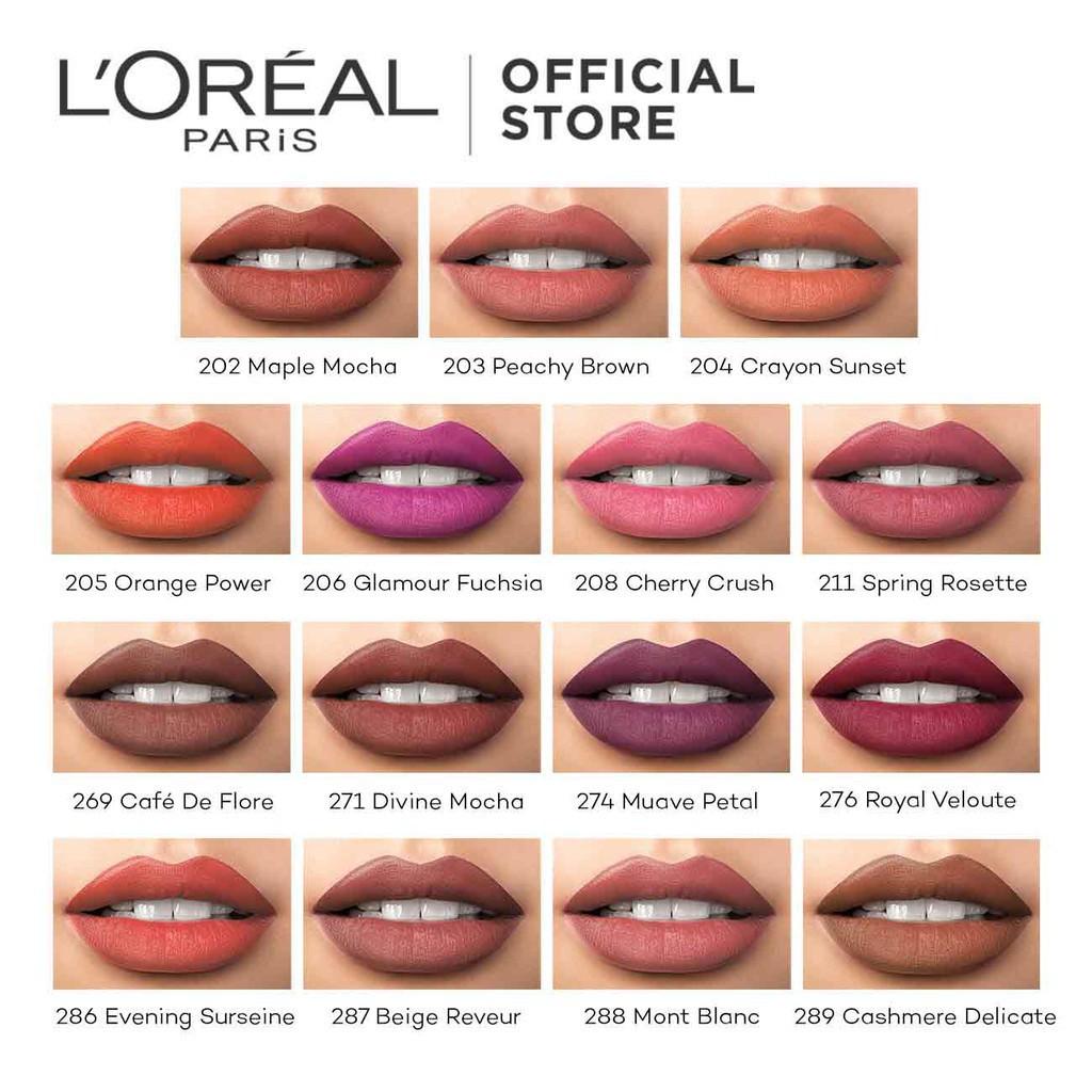 Lipstick Riche Matte Color Paris L'oreal