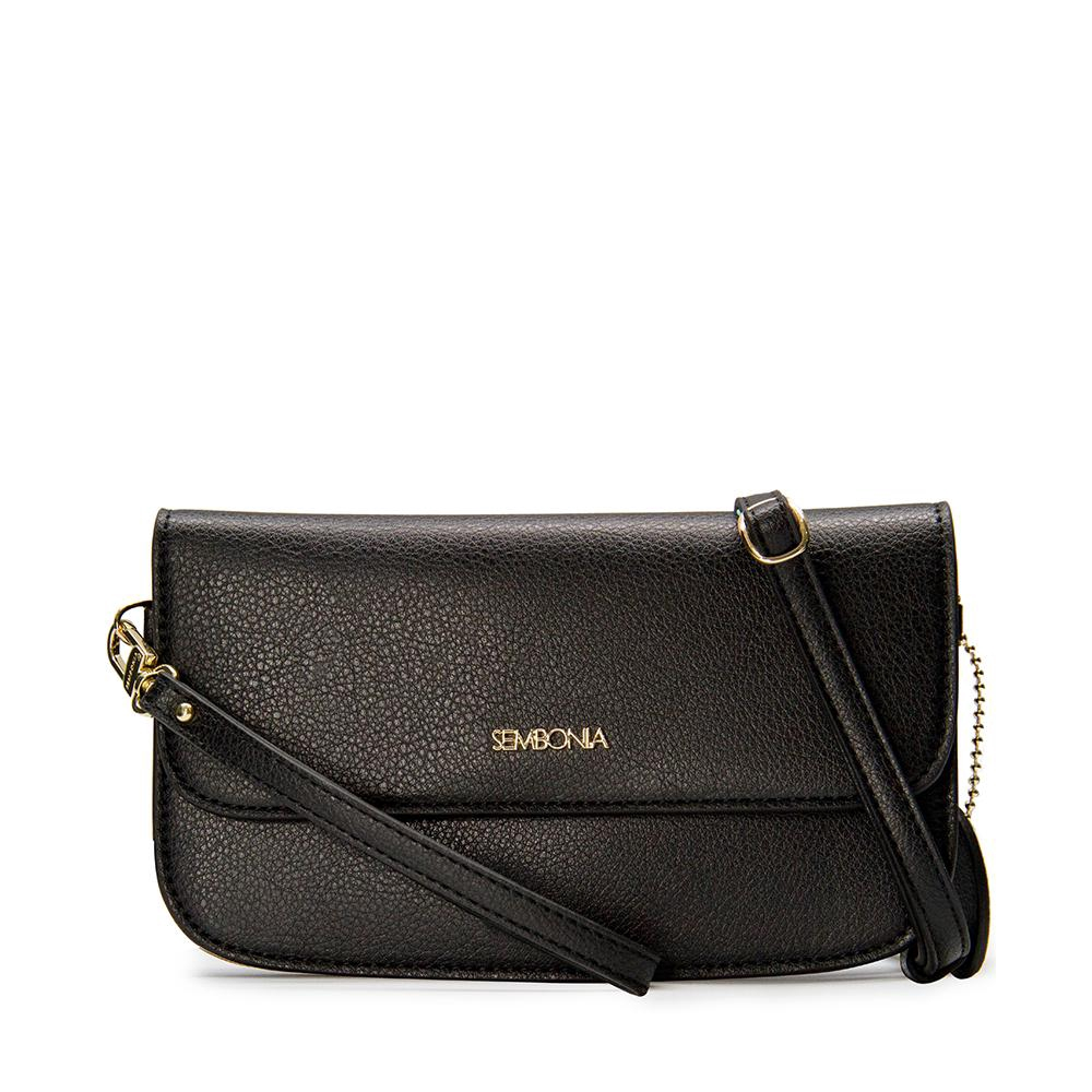 47904279214 (Black) SEMBONIA Synthetic Leather Wristlet