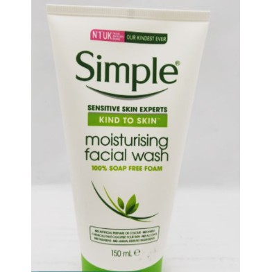 Simple Moisturising Facial Wash 150ml