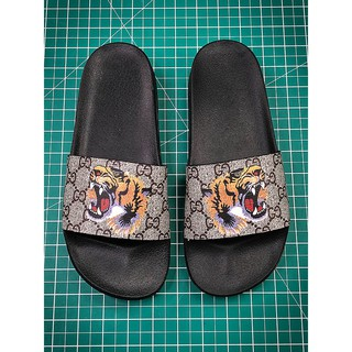 new style 68926 b18ef Gucci 18SS Virgil Abloh Sandals Ready Stock Sports Slippers ...