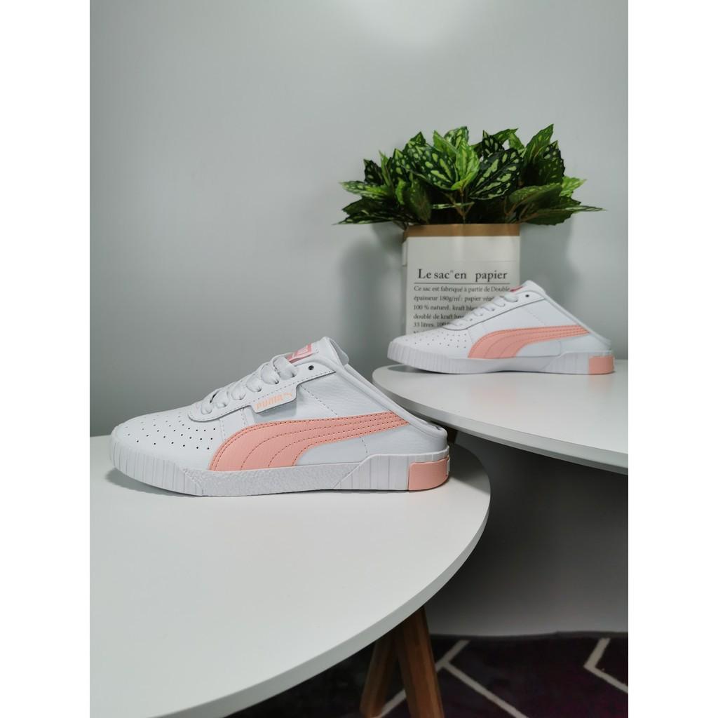 best service 10f4e ee38d Puma Cali 2019 women's Shoes wear half-heel-top sport shoes 35-39