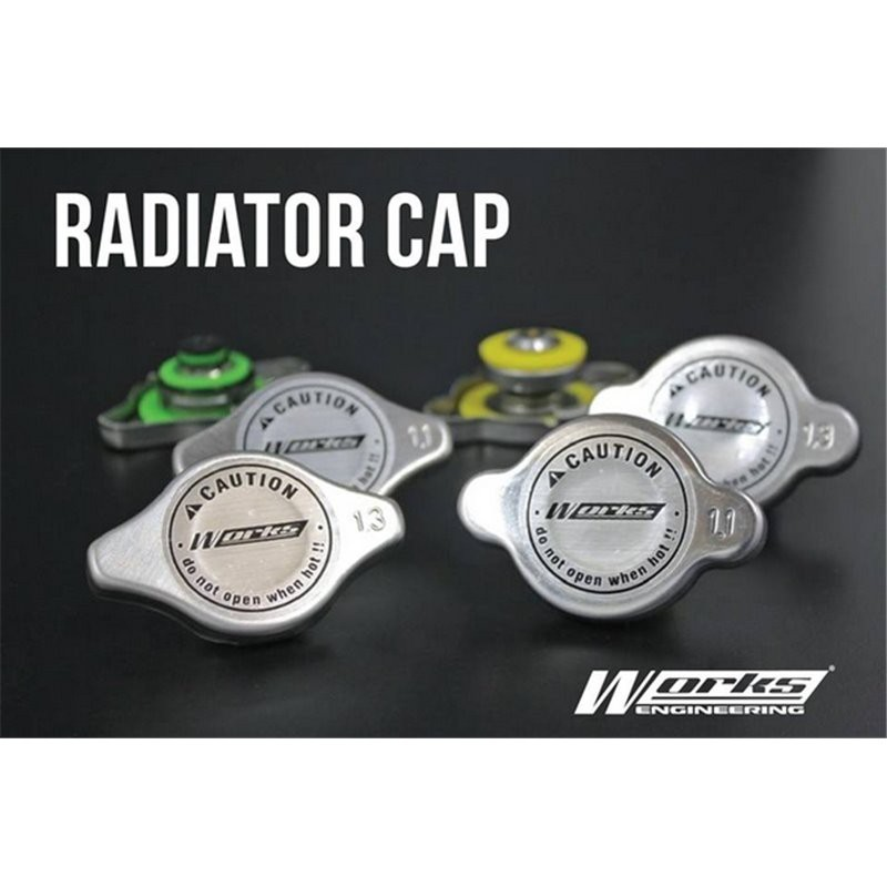 [FREE Gift] WORKS ENGINEERING USA 1.1, 1.3 Bar Big & Small Racing Radiator Cap