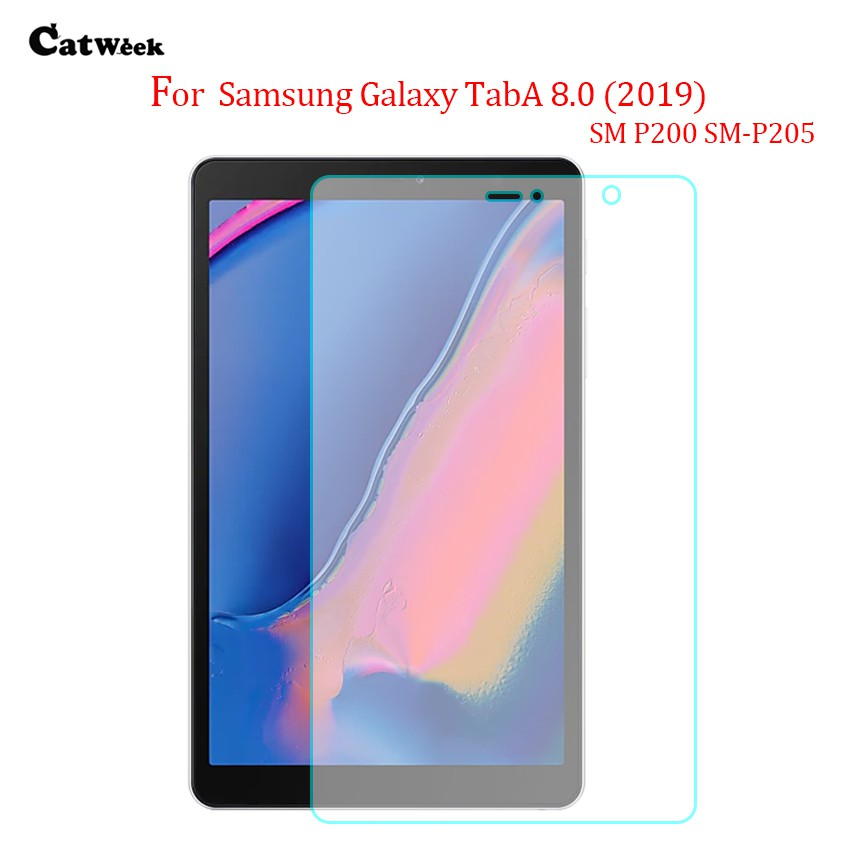Clear HD Screen Protector Tempered Glass For Samsung Galaxy Tablet P205 T720