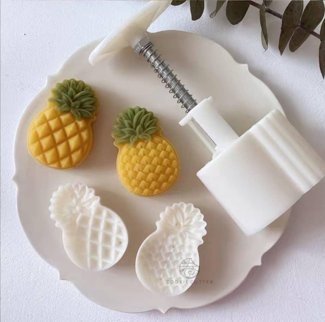 Plunger Cutter - Pineapple, ø4 x H6cm