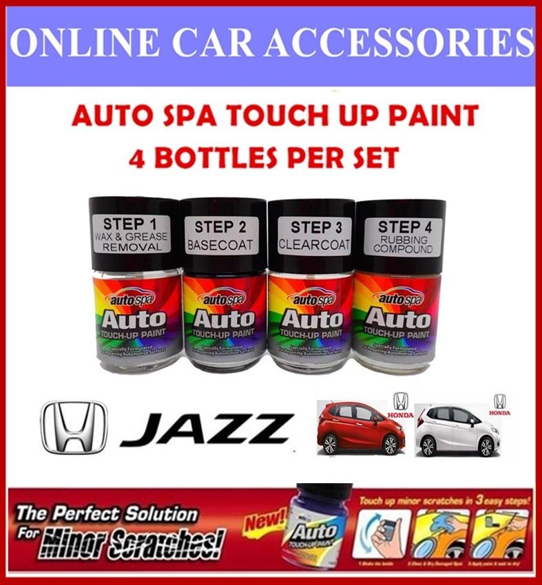 HONDA JAZZ Original Touch Up Paint - AUTOSPA Touch Up Combo Set (4 Bottles Per Set)