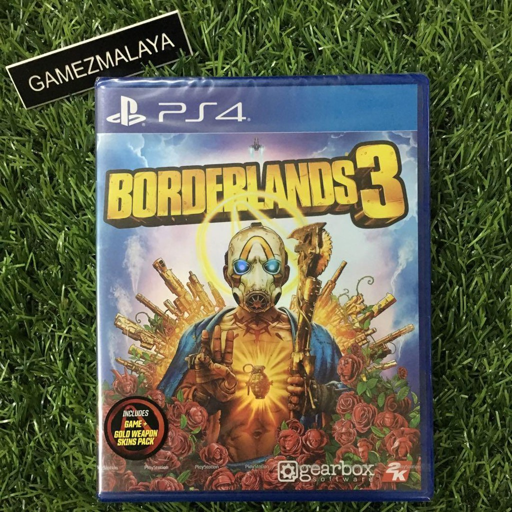 New Ps4 Borderland 3 R3 Asia New Ps4 Games Gamezmalaya Shopee Malaysia