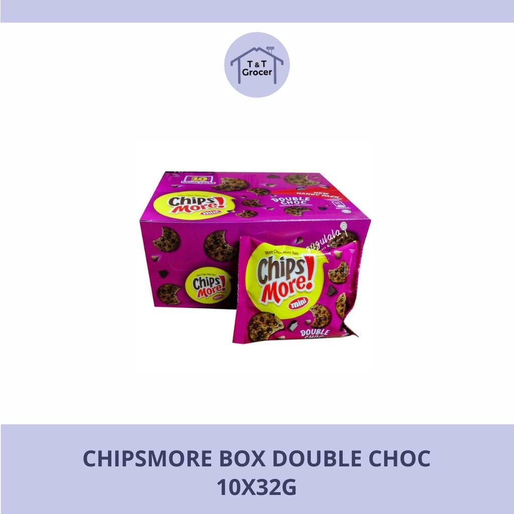 Chipsmore Box 10x32g (Double Choc/ Original)