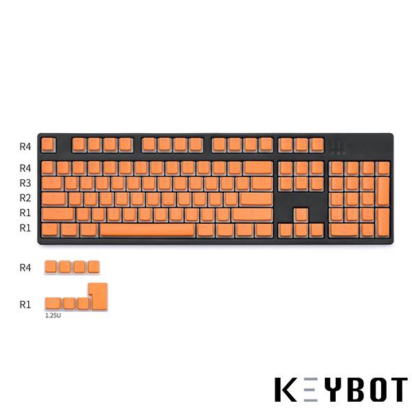Pudding Backlit Translucent Keycaps