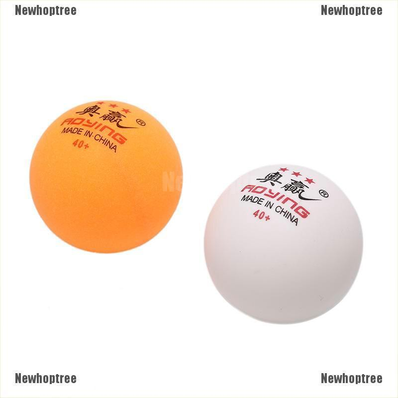 [Ready Newhopetree] 30 Pcs 3-Star 40mm 2.8g Table Tennis Balls White Yellow Pingpong Training Ball