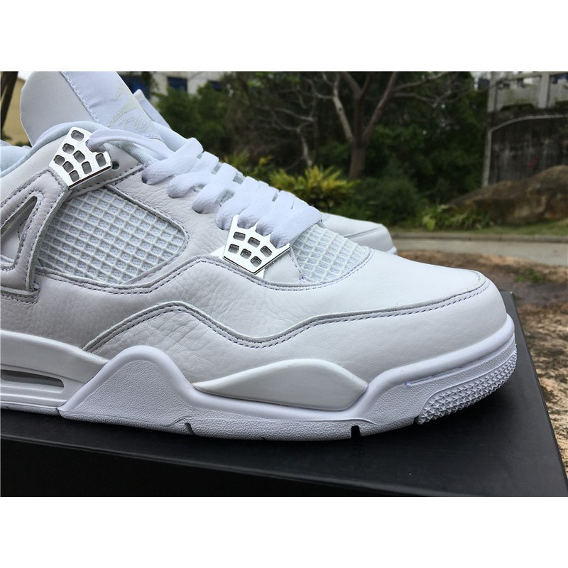 696605687f40 Nike Air Jordan 4 Men Women Sports Shoes Basketball Sneakers Pure Money