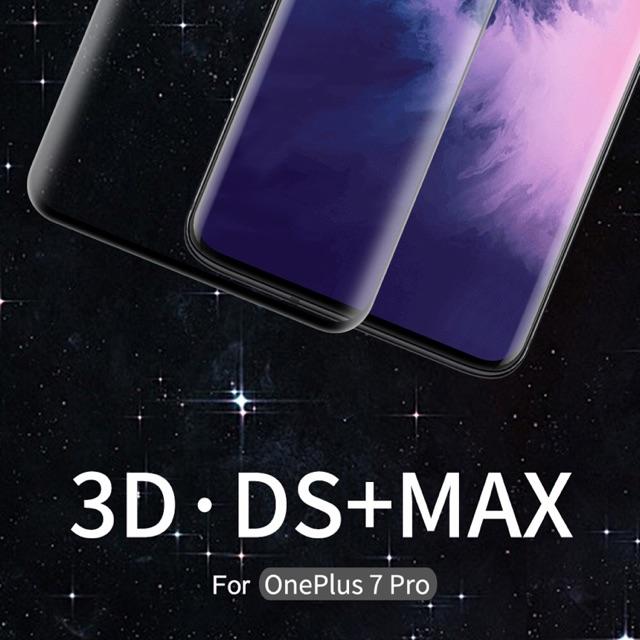 Nillkin ฟิล์มกระจกนิรภัย เต็มจอ OnePlus 7 Pro 3D DS+ MAX Fullscreen กาวสุญญากาศอย่างดีเต็