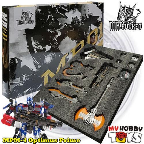 Mr.Bucket Transformers - MR01-B Weapon Upgrade Kit (MPM-4 09LOP DA15 DA28  APS01)  c180e7d59153