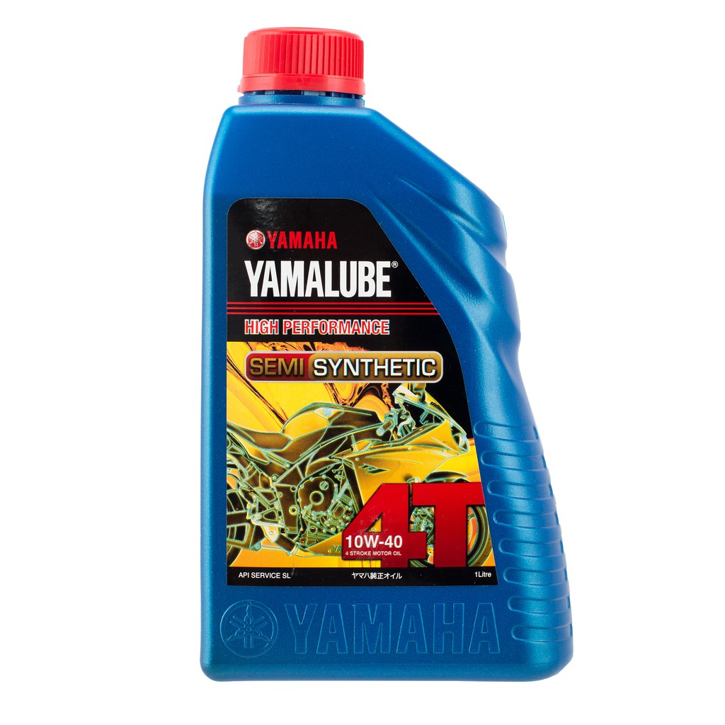 Yamaha Yamalube 4T 10W-40 Semi Synthetic Motorcycle Oil (1.0L)