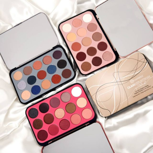 Ready Stock Bh Cosmetics Glam Reflection 15 Color Shadow Palette