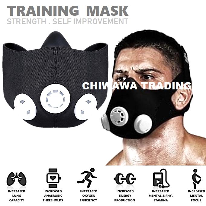 High Altitude Elevation Workout Mask Cardio Training Breathing Running Sports Endurance Exercise Oxygen Control