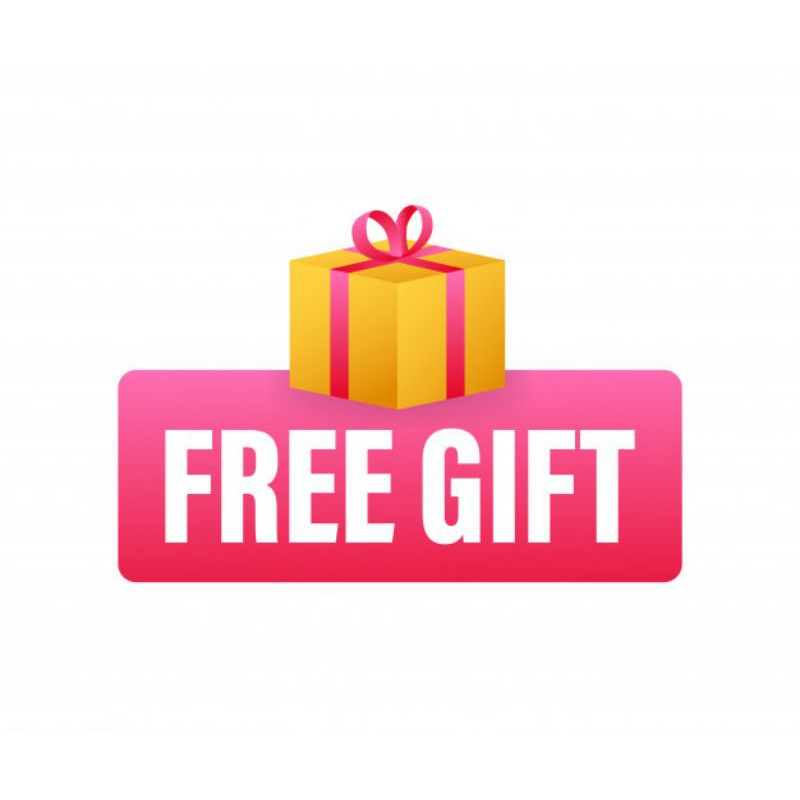 FREE GIFT OR EXTRA BUBBLE (available with item purchase only)