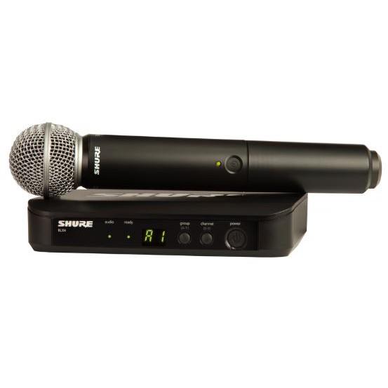 SHURE BLX24/SM58 WIRELESS HANDHELD MICROPHONE