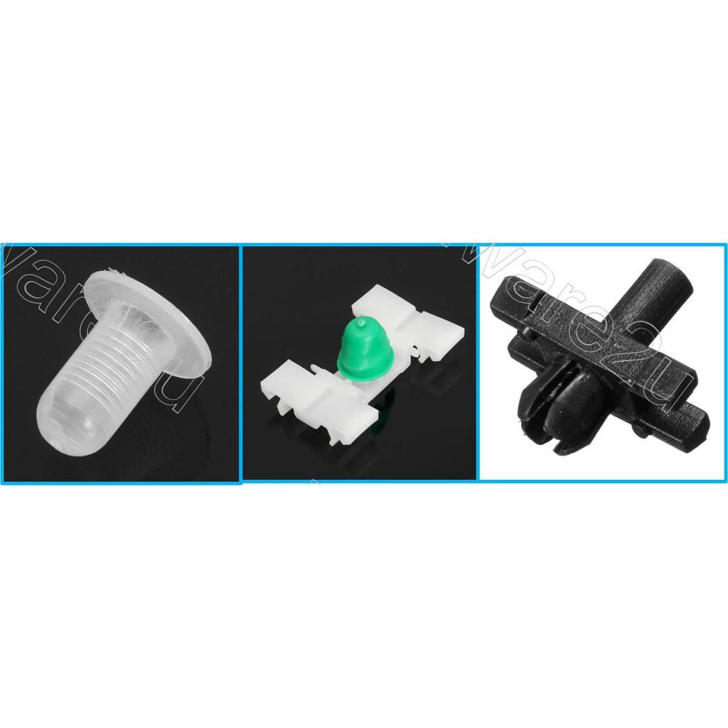 40x Body Side Moulding Clip Trim Retainer Nylon A13158 E10 5113-1-804-205