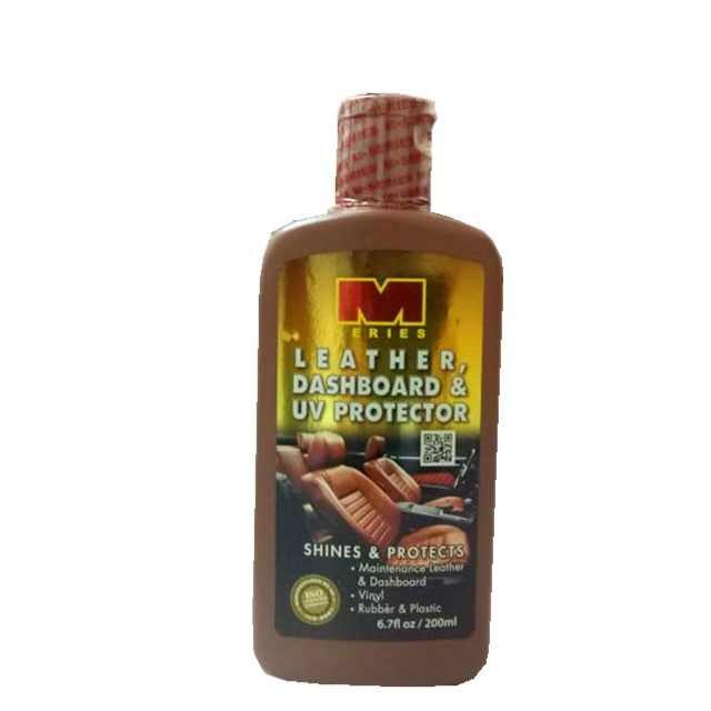 M-Series  Leather, Dashboard & UV Protector (200 ml)