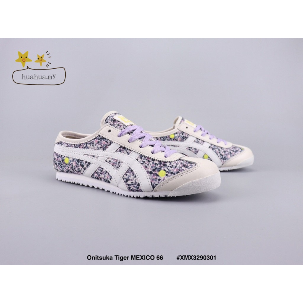 sports shoes 1df6c f8ace 🌟🌟Ready Stock Onitsuka Tiger MEXICO 66 Purple lace Low-cut casual  runningshoes