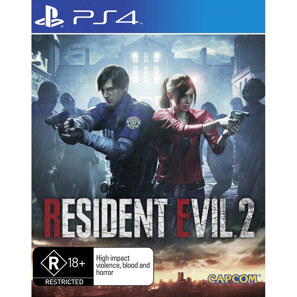 PS4 Resident Evil 2 Remake / Biohazard 2 /RE2 (English/Chinese) 生化危机 重制版 2