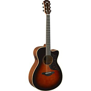 Yamaha AC3M 41 Concert Solid Sitka Spruce Top Acoustic Electric Guitar