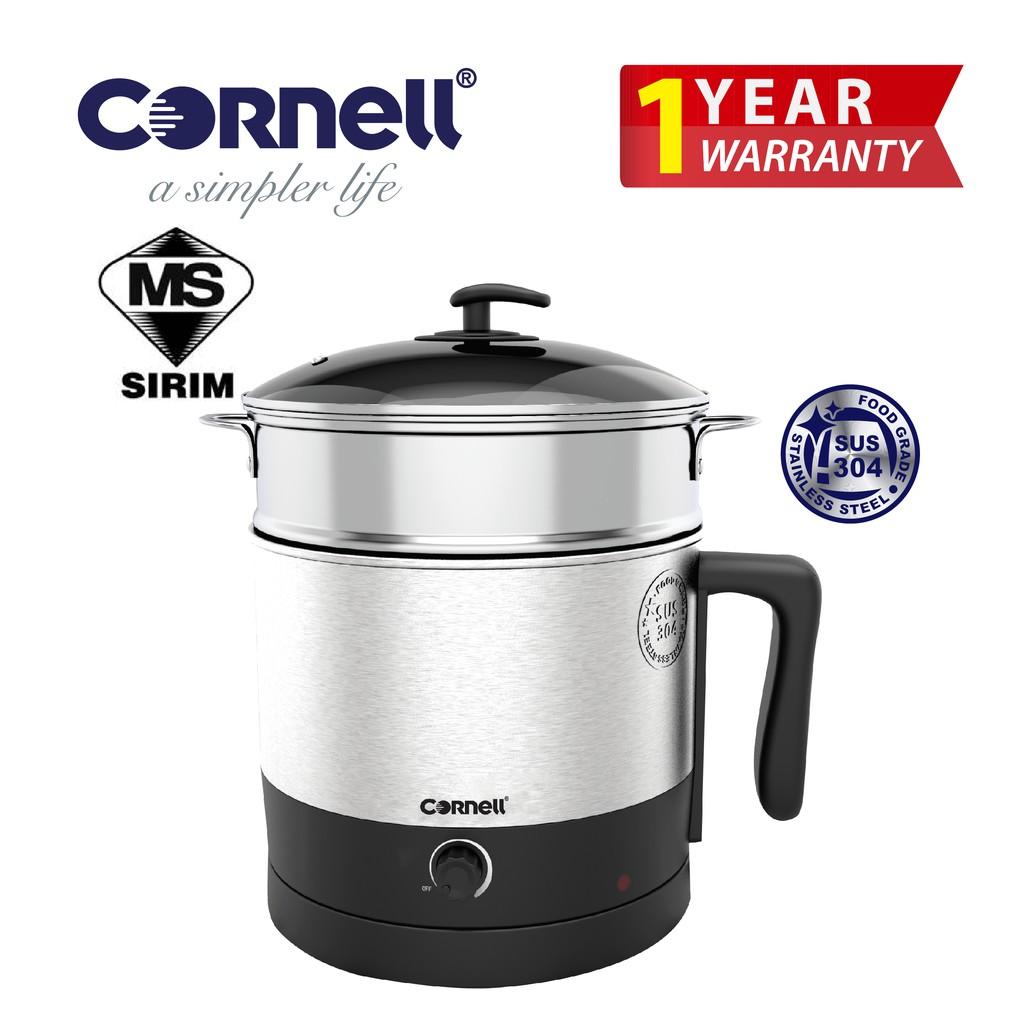 Cornell Stainless Steel Multi Cooker (1.6 L) CMC-E160SS