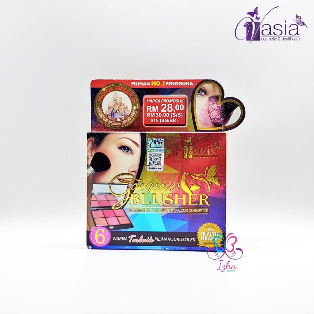 [V\'ASIA] Gorgeous Blusher - 6 Warna