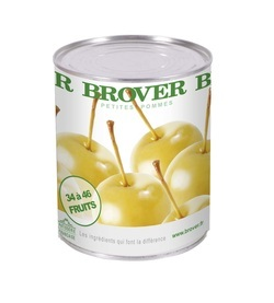 BROVER, Whole Mini Apples W/Stem