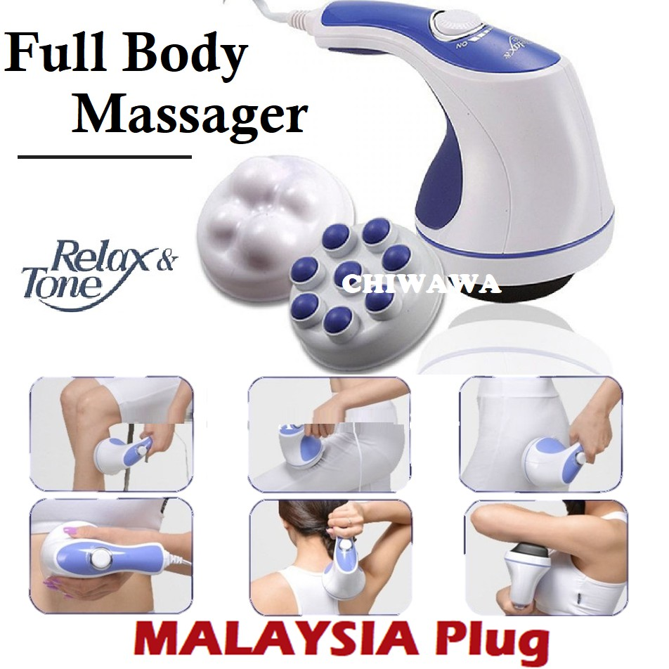 【Malaysia Plug】Relax & Spin Tone Massager Slimming Toning Relaxing / Tukang Urut