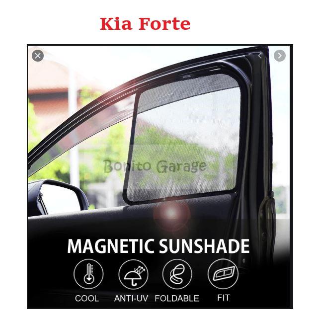 Magnetic Sunshade Kia Forte 4pcs
