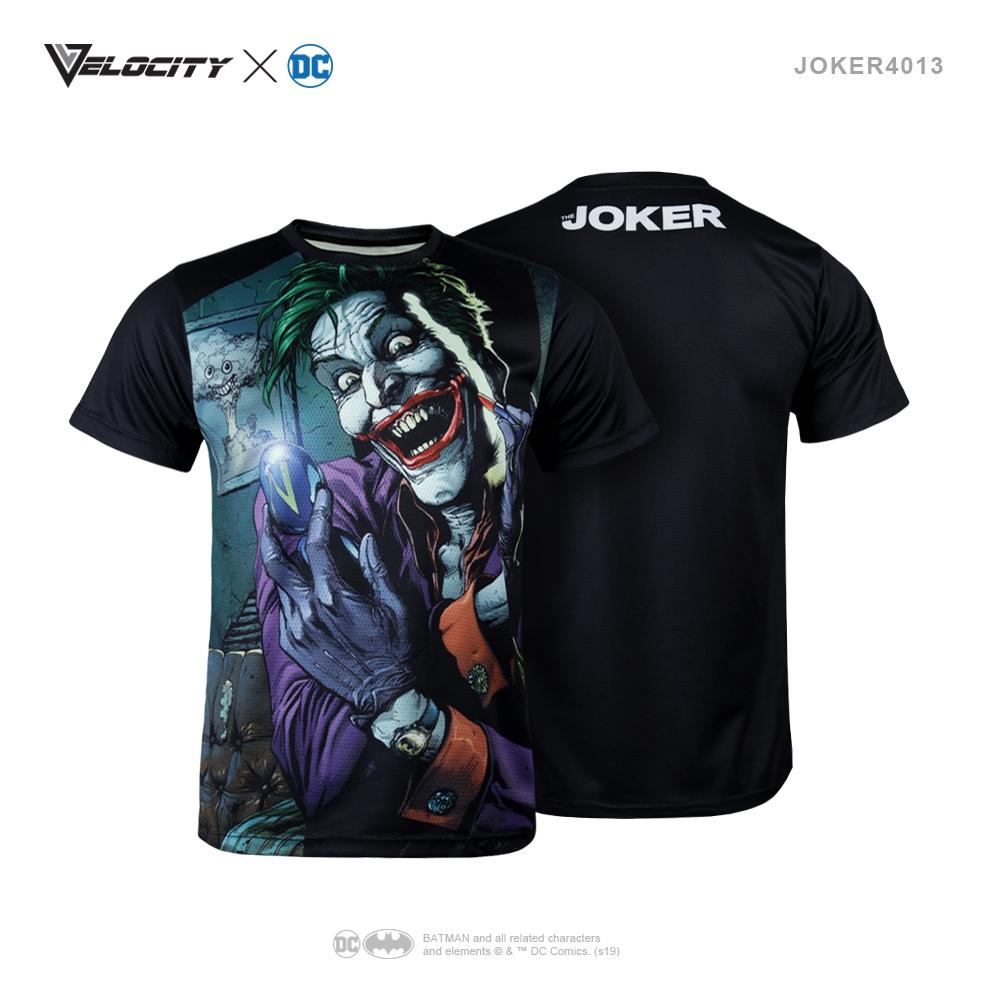 J4013 Unisex Exclusive Polyester Full Print Joker Tee Short sleeve