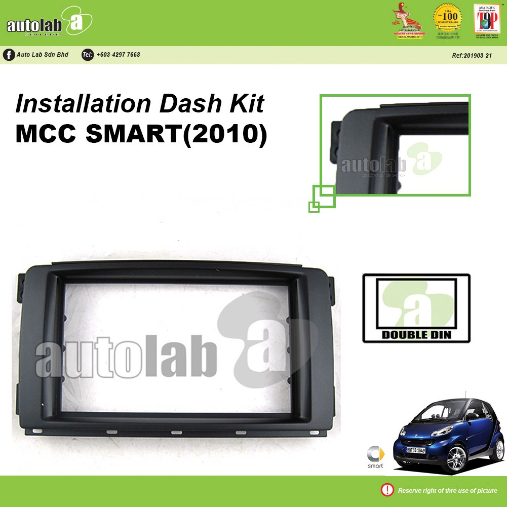Player Casing Double Din MCC Smart 2010