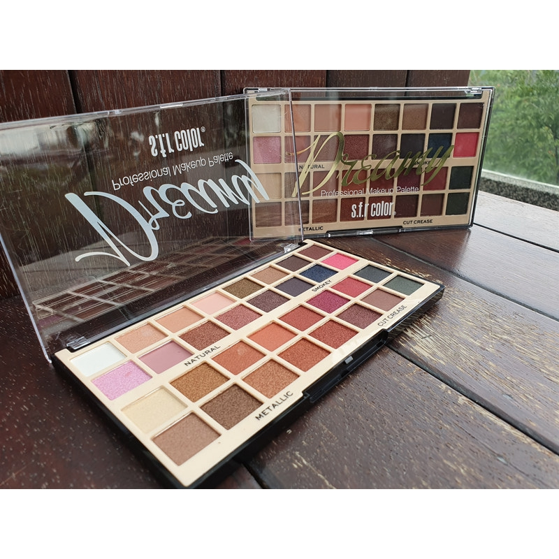 Malaysia Ready Stock/s.f.r color eyebrow palette/brow kit
