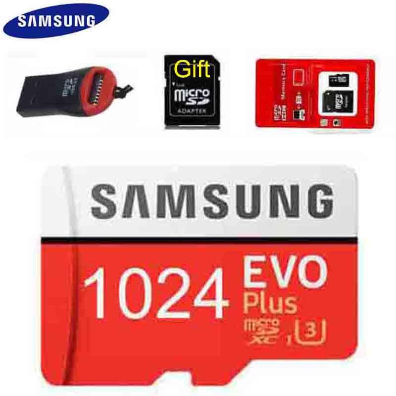 Samsung Evo Plus 1024gb 512gb 256gb Class10 Tf Card Micro Sd Card 1024g 1tb Reader Shopee Malaysia