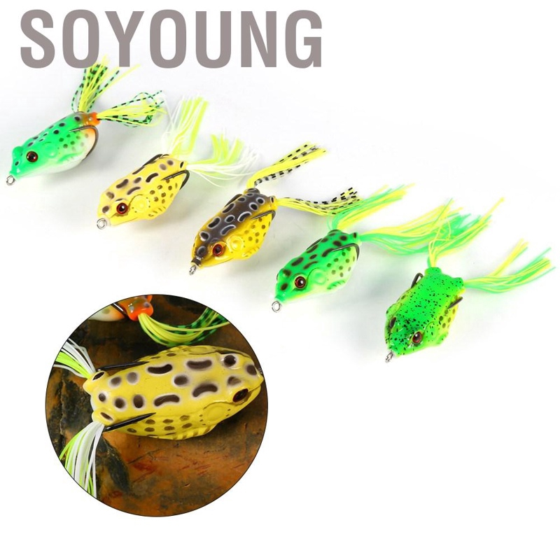 Soyoung 5pcs/box Bionic Fog Baits Fishing Bait Hook Tackle For Outdoor - intl