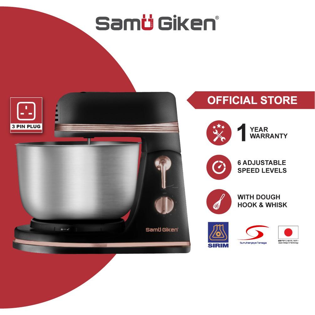 Samu Giken ROZUGO Kitchen Stand Mixer with Rotating Bowl, SM500RG