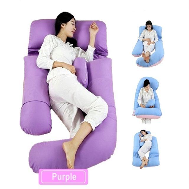 🔥M\'SIA STOCK] BANTAL MENGANDUNG U-Shaped Pregnant Women Pillow Maternity