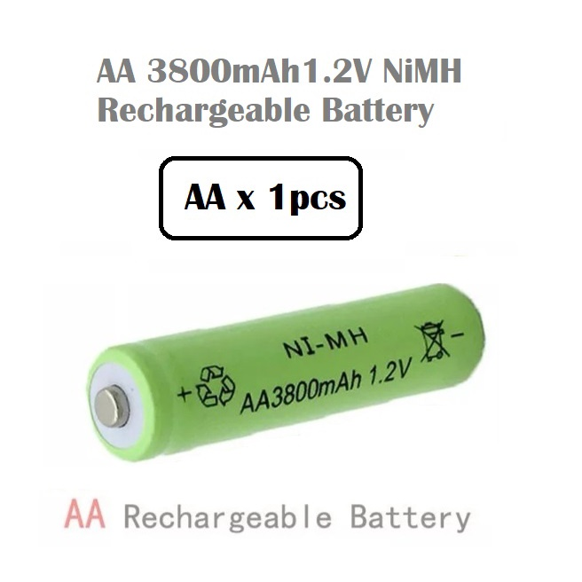 [ READY STOCK ]  AA AAA 3.7V Battery Charger Usb Port Ni-CD Lithium Rechargeable Battery Pengecas Bateri Jualan Murah Toy