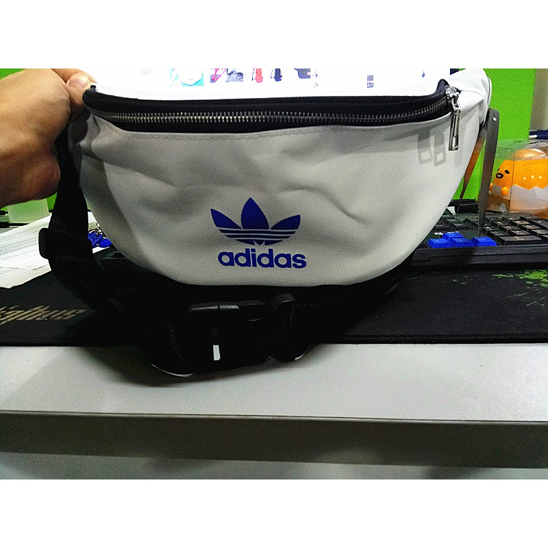 (Ready Stock)Adidas UNISEX Men & Women Sling Bag Waist bag Pouch Chest Bag