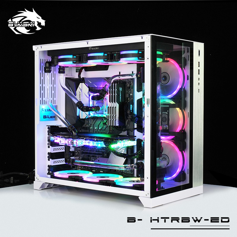 Hard Tube Water Cooling Kits Use For CPU And GPU With RGB Light