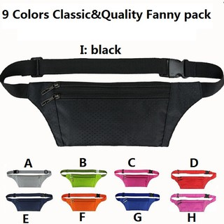 5340d4ef7fd9 Men Women Fanny Pack Bum Bag Festival Waist Belt Pouch Travel Holiday Money  Wall
