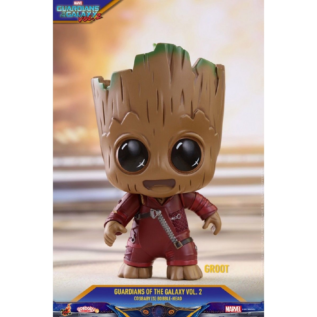 Guardians Of The Galaxy Vol 2 Hot Toys Rocket Groot Yondu Cosbaby Raccoon Super Deluxe Vinyl Figure Cosb365 Shopee Malaysia