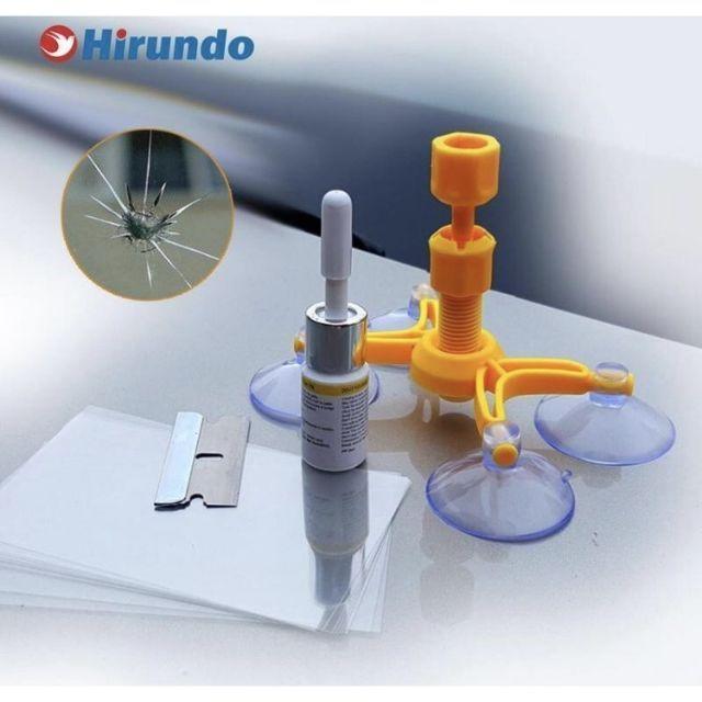 Windshield Repair Kit (repair cermin retak)