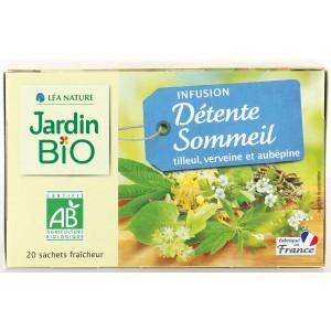 Hot Sale Jardin Bio Infusion Relaxation And Sleep Organic Tea